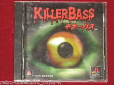 PS1 RARE Game KILLER BASS NTSC-J Japan Import PlayStation