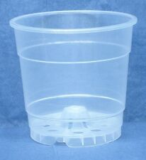 Clear Plastic Teku Pot for Orchids 4 1/2 inch Diameter - Quantity 1