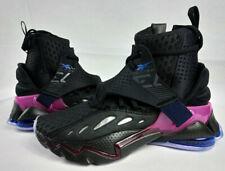 Reebok DMX Elusion 001 FT High Black/Purple EF3612 Basketball Shoes Size 8