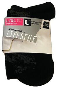 Brand New Women's Icebreaker Ultralight Cushion Lifestyle Crew Socks Sz L/XL $20