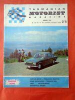 TMM Tasmanian Motorist Magazine Barry Lake January 1965 Triumph 2000