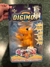 Vintage 2000 Bandai Digimon Talking Agumon Figure Season 1 - **BRAND NEW** RARE
