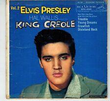 CANADA BLACK LABEL EPA 4321 1950s P SLEEVE 45 RPM ELVIS PRESLEY  KING CREOLE V.2