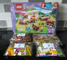 LEGO Friends 3184 Adventure Camper. 100% complete, instructions and box