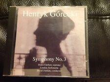 Gorecki: Symphony No 3. David Zinman, Dawn Upshaw. London Sinfonietta. Nonesuch.