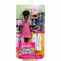 Barbie Team Stacie Friend of Stacie Doll Science Playset with Accessories GBK58