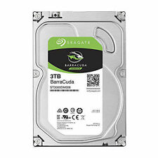 "3TB Seagate ST3000DM008 BarraCuda 3.5"" HDD SATA III - 6Gb/s 7200rpm 64MB Cache"