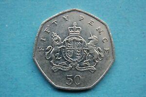 2013 ELIZABETH II 50p Commemorative Coin for Christopher Ironside -  Shield Coat