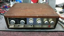 Vintage knight kx-60 Germanium Amp Stereo Amplifier solid state