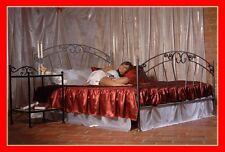 Romantisches handgeschmiedetes doppel Metallbett Pamela 140 x 200 +Lattenrost