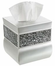 Creative Scents Square Tissue Box Cover, Decorative Tissue Holder is Finished in