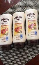 3 Hawaiian Tropic Sheer Touch Lotion Ultra Radiance Sunscreen SPF30 8oz