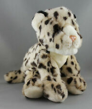 Korimco Snow Leopard Friendlee Jungle Cat [20cm] Soft Plush Toy NEW