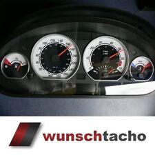 Cadran de compteur de Vitesse Pour Compte-Tours BMW e46 essence Blanc 300 KM M3