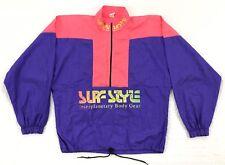 089e9bea269e18 Surf Style VTG 90s Purple Pink 1 2 Zip Big Pocket Windbreaker Pullover  Jacket OS