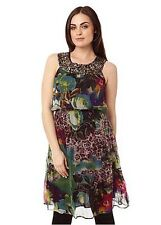 BNWT Orientique Wild At Heart Embellished Dress Size 14 RP $147.50