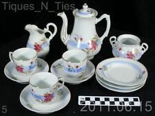 Rare c1890 RS Prussia Child's Sentiment Ware Toy Tea Set $495.00 (DD)