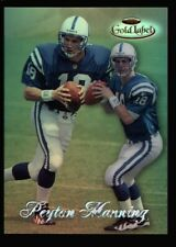 New listing PEYTON MANNING $120++ MINT ROOKIE REFRACTOR #20 CLASS 2 RC 1998 TOPPS GOLD LABEL