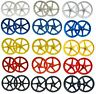 "20"" BMX Mag Wheelset 5 or 6 Spoke Freestyle Bike Colour Wheels FRONT & REAR"