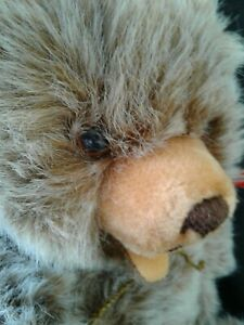 "VINTAGE/ANTIQUE ~~Hermann German  17"" Teddy Jointed Bear Plush Mohair"