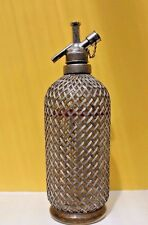 Vintage Sparklets Soda Syphon on Pedestal Base