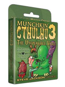 Munchkin Card Game Munchkin Cthulhu 3 The Unspeakable Vault Steve Jackson Games