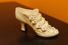 """Raine Just The Right Shoe """"Edwardian Grace"""" miniature item # 25024 with box"""