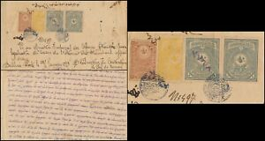 TURKEY - DERSAADET 1898, FOREIGNER BY NOTARY PUBLIC DOCUMENT WITH REVENUES #M55