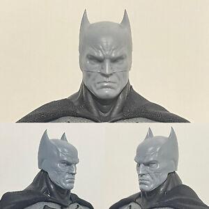 Mezco ONE:12 Supreme Batman Head sculpt Unpainted 1/12