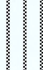 Black and White Checkered Stripes Wallpaper GKW0726