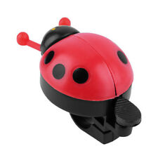 Lovely Red Beetle Ladybug Ring Bell For Cycling Bicycle Bike Ride Horn Alarm 1x