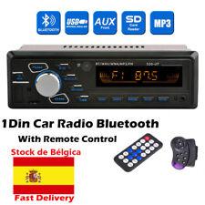 Autoradio radio de coche 1DIN Bluetooth MP3 Player Stereo FM USB SD AUX In dish