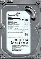 """2TB HDD 3,5"""" Zoll SATA III Seagate 2000 GB 7200 RPM 64MB Cache ST2000VX000 Neu"""