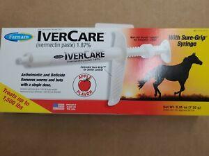 Farnam apple paste horse dewormer 1.87