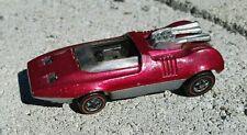Nice 1970 Red Line Hot Wheels PEEPING BOMB metallic pink rose light magenta?