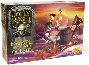 Lindberg Jolly Roger Escape the Tentacles of Fate Pirates of the Caribbean model