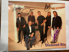 DIAMOND RIO Autographed Photo - Country Music REAL Collectible