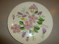 "BLUE RIDGE Antique Hand Painted Plate Platter 10"""