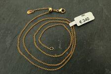Goldkette 18 Karat / 750, ECHTES GOLD! Ankerkette, Halskette 46 cm, eVp 340 €