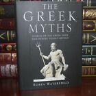 Greek Myths & Legends Mythology Gods Heroes Illustrated New Deluxe Hardcover
