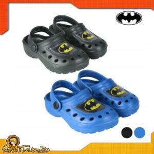 Shoes Sandals Slippers Tipo Crocs Batman Beach For Child Kids Rubber