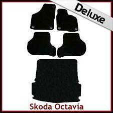 SKODA Octavia Mk2 su misura LUSSO 1300g auto + le stuoie di avvio (2004... 2013) OVALE