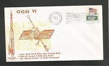 OGO VI SOLAR WIND SHOCK WAVE TESTS JUN 5,1969 VANDENBERG AFB  **** ORBIT COVERS