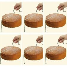 Adjustable Wire Cake Slicer Cutter Leveller Decorating Bread Wire Decor Tool BE