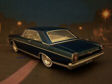 1965 65  FORD GALAXIE 500 COUPE REPLICA COLLECTIBLE DIORAMA MODEL 1/64 SCALE