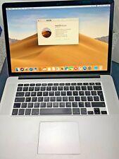 "Apple MacBook Pro A1398 15.4"" Laptop - 16GB RAM, 256GB SSD"