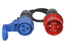CEE Adapter Starkstrom 16A Stecker - CEE 230V Kupplung