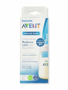 Avent Wide-Neck Anti-Colic Bottle (9 oz.) REDUCES GAS- #1 BOTTLE BRAND