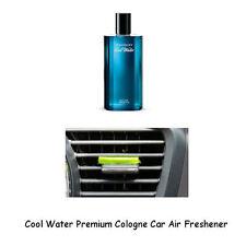Premium Cologne Car Air Freshener Cool Water 3 Pack