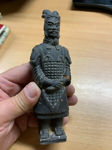 "VINTAGE TERRACOTTA ARMY FIGURE 6""-TALL (P3)"
